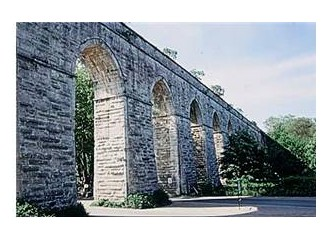 Tarihi Kırkçeşme suyu tesisleri