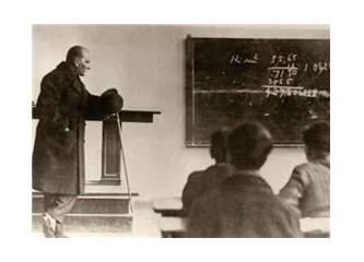 Atatürkçü eğitim ve nitelikli öğretmen