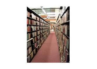 Eskiden kütüphaneler...