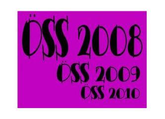 Yalnızca ÖSS 2008'e girecekler mi şanslı?