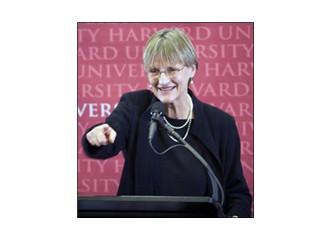 Harvard'a ilk kadın rektör