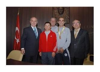 Türk Güreşçiler Dünya Şampiyonu...