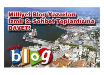 """İzmir MB sohbet toplantısına davet"""