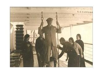 Atatürk'ün bilinmeyen fotoğrafı