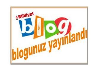 Blogunuz yayınlandı
