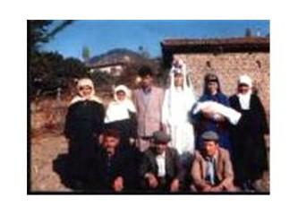 Bursa' da  eski köy düğünleri