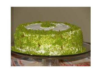 Ispanaklı yaş pasta