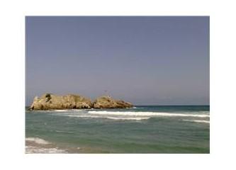 Doğa ve deniz iç içe, işte Akçakese