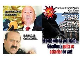 Ergenekon'da son tutuklamalar