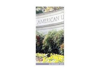 American University, koşullu kabul sunabilen bir üniversite…