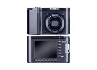 Samsung dan tasarım harikası dijital fotoğraf makinası