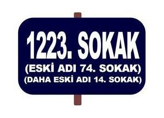 Sokak isimleri silinen hafızamız…