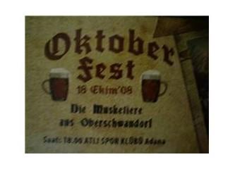 Oktober fest in Adana / Ekim festivali