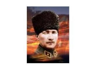 Mustafa değil, Atatürk...