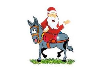 Noel Baba ile Nasrettin Hoca'nın cep muhabbeti