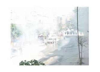 1 Mayıs: İşe gidelim dedik, biber gazını yedik!