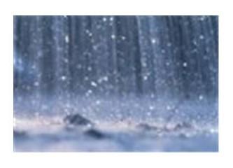 Rüzgar ve yağmur