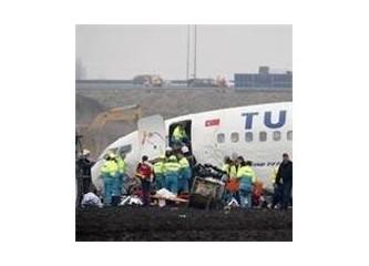 Düşen THY' nın Tekirdağ uçağı ve bilgi kirliliği...
