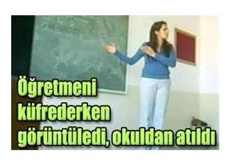 Öğretmen kutsal(dı) ana gibi...