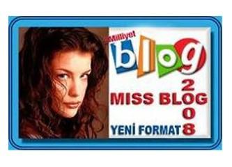 """Miss Blog 2008"" Yeni Formatla Yeniden"
