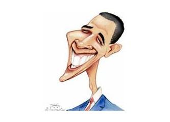 Obama'nın elini sıktım:)