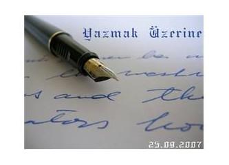 Yazamamak...