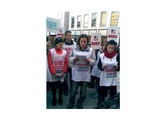 Grevdeki Atv ve Sabah çalışanlarına sadece bir DTP milletvekili destek verdi.