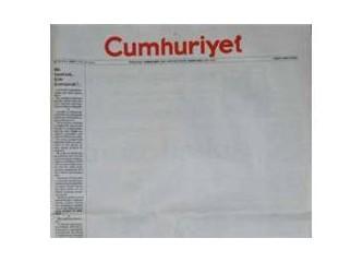 """Cumhuriyet soruyor: """"Biz Susarsak... Kim konuşacak?"""""""