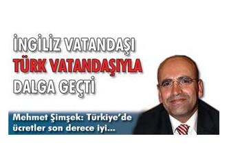 Bakan Şimşek'in tepkisi