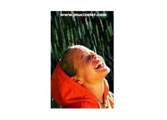 Yağmur,doğa'ya yağsın sadece..