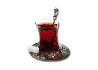 Çay içer misiniz ?