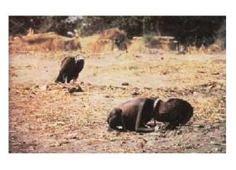 Afrika'daki açları düşünmek