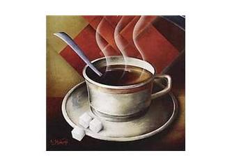 Bir fincan kahvedeki tat