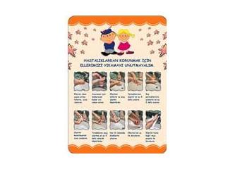 Salığımızı korumak için ellerimizi yıkayalım