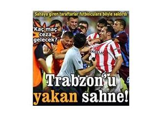 Trabzon'da futbol oynatılmasın!