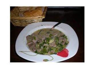 Sulu dil yemeği