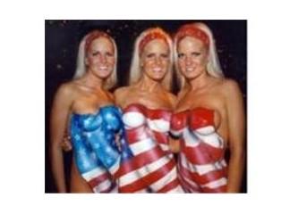 Amerikaaaa bir, iki... bir, iki