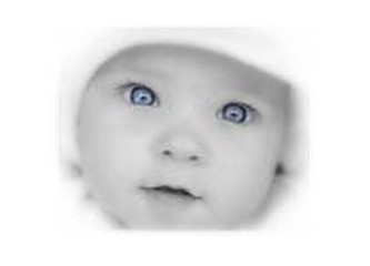Mavi gözlü çocuk