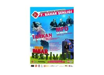 Mega Star Tarkan ve Efsane Grup MFÖ Kültür Üniversitesi Bahar Festivali'nde..