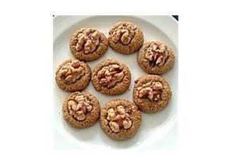 Elma püreli kurabiye