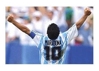 Maradona Alex'i unutamamış!!