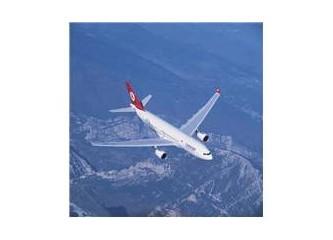 İlk defa uçağa bindim