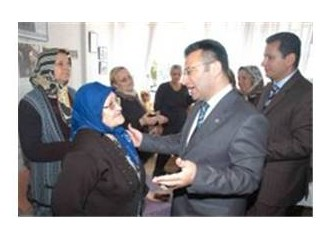 Mersin Valisi Aksoy, şehit annelerinide unutmadı...