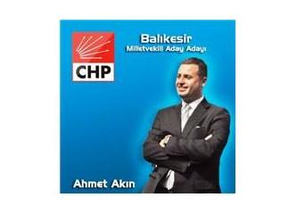 Balıkesir-CHP'den Ahmet Akın Mutlaka Milletvekili olmalı