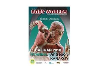Orijinal Vücut Dünya Sergisi İstanbulda,bugün açılıyor..