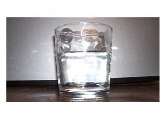 Yarım bardak su
