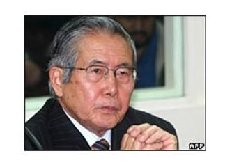 Peru eski cumhurbaşkanı Fujimori'ye 25 yıl hapis cezası verildi...