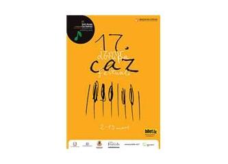 17. İzmir Avrupa Caz Festivali 8. Caz Afişi Yarışması Birincisi İzmir Ekonomi Üniversitesi'nden