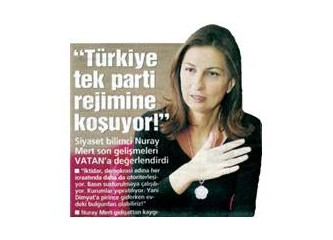 """Nuray Mert'e """"Hoşgeldin"""" derken: Nuray Mert meğer """"mücit"""" değil """"mukallit""""miş!"""