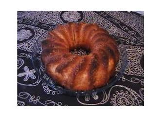Tarçınlı, cevizli kek